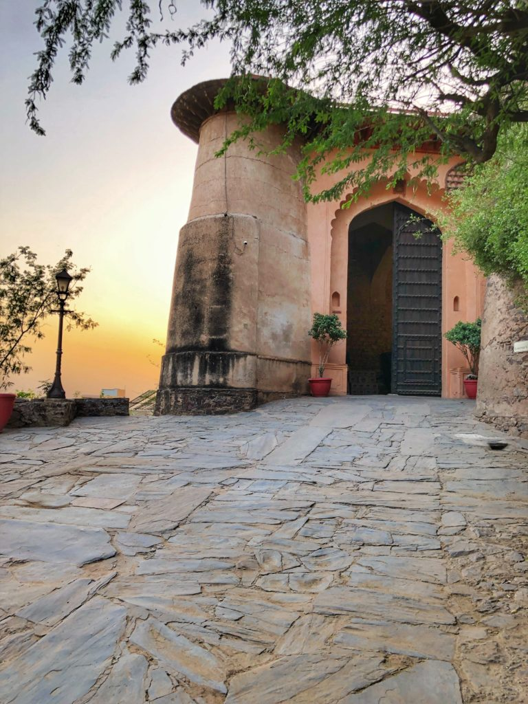 Front Gate Neemrana Fort Palace