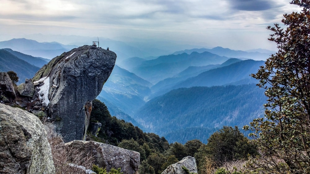 Jam Nallah to Churdhar Peak and then back to Jam Nallah_