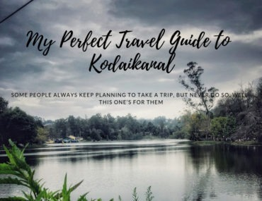 My Perfect Travel guide to Kodaikanal