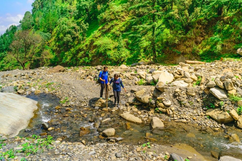 Prashar Lake to Panarsa_
