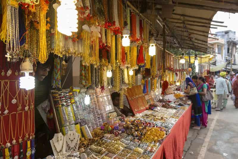 Sarafa Bazar Pushkar