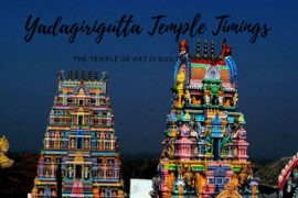 Yadagirigutta Temple Timings