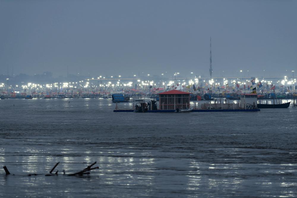 Yamuna, Ganga, Saraswati Sangam