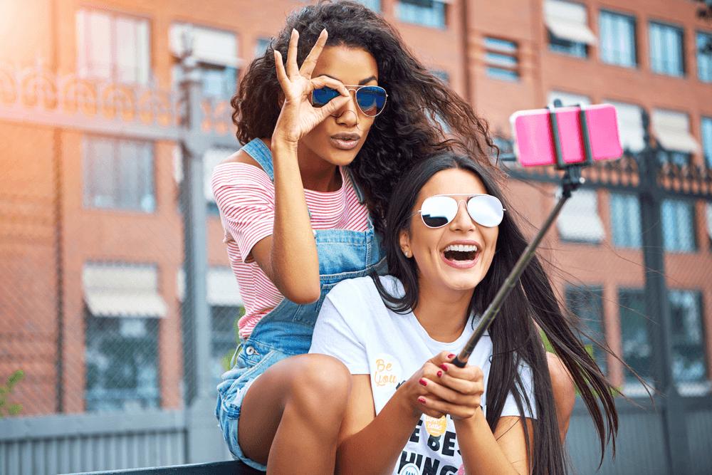 Use a Selfie Stick