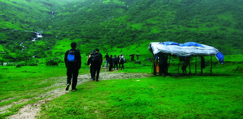 Monsoon trekking